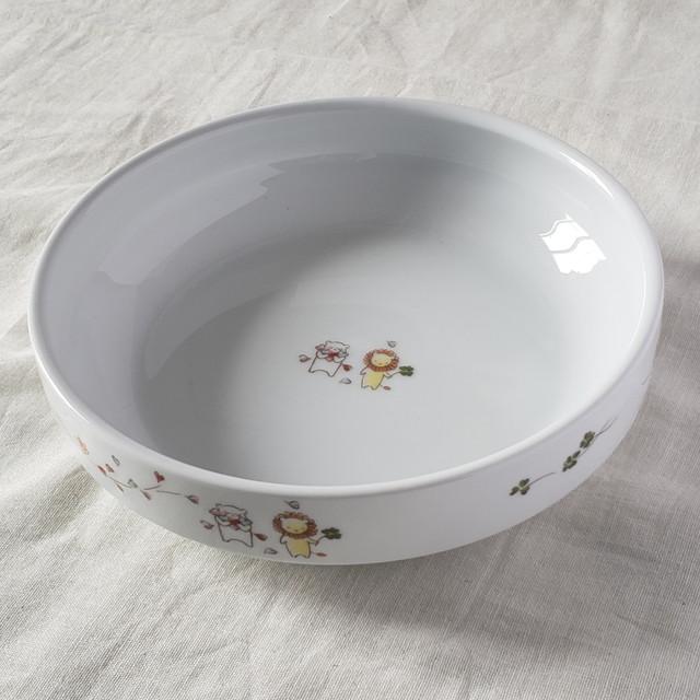 17cm すくいやすい食器 そよかぜ 強化磁器【1715-1360】