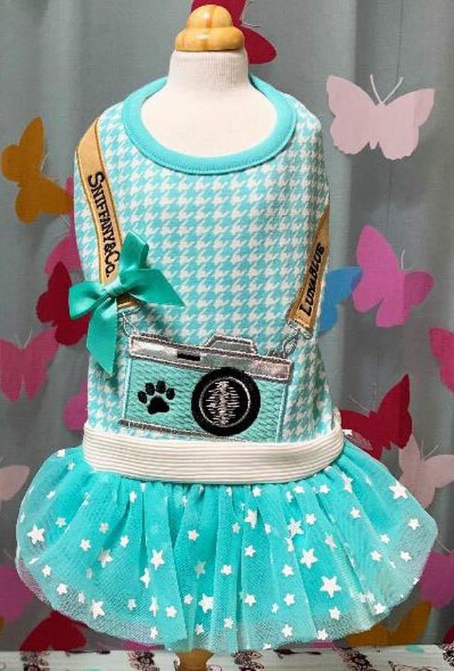 【予約】Luna Blue SNIFFY CAMERA Dress(LB-89)