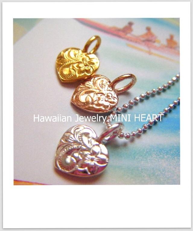 """ハワイアンジュエリー""""mini Heart [HJ-027]"""