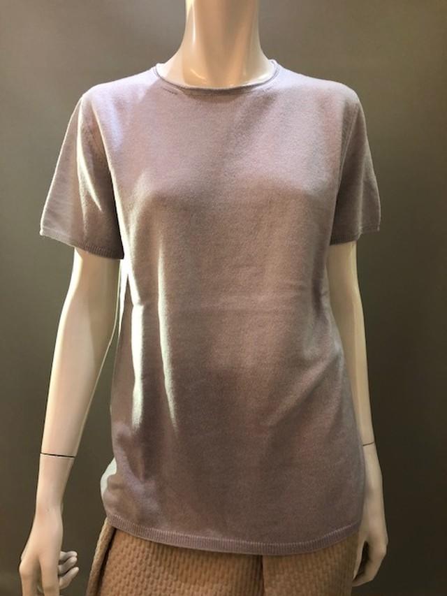 HAND イタリア製 ニット半袖セーター 31503