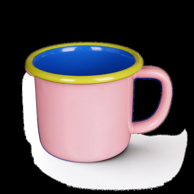 BORNN / COLORAMA - Large Mug - Pink