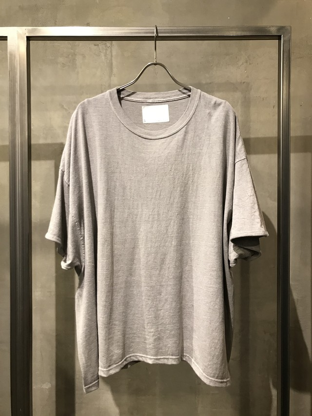 TrAnsference fixed proportion loose fit T-shirt - past white