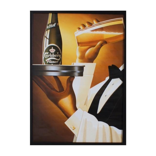 Poster AD Carlsberg / CB-1987