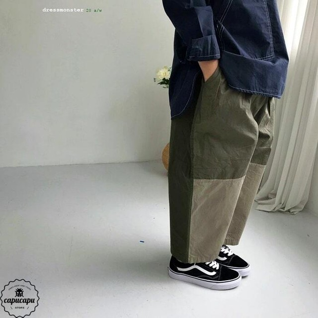 «sold out» dressmonster work pants 2colors