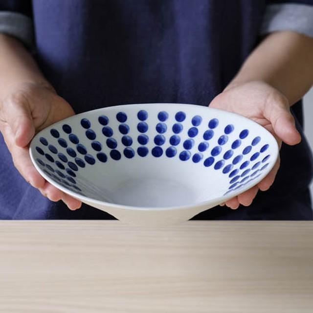 ドロップ カレー&パスタ丸皿【波佐見焼き】