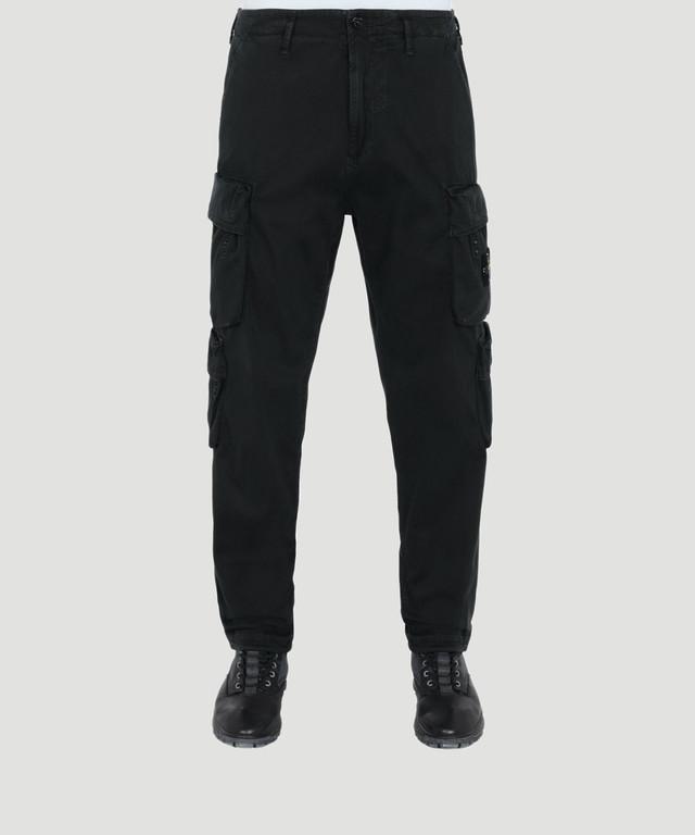 Stone Island 4 Pocket Cargo Pants Black  711530702