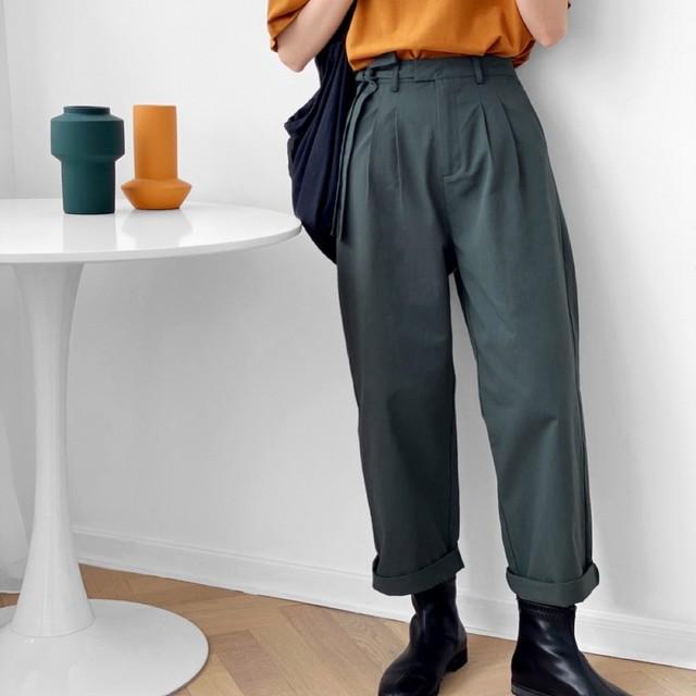 Casual pants 2color KRE138