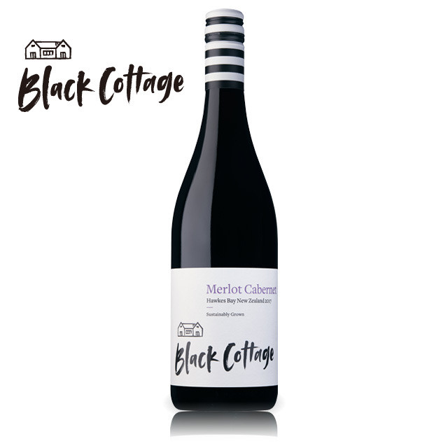 Black Cottage Hawke's Bay Merlot Cabernet 2017 / ブラックコテージ ホークスベイ メルロー カベルネ
