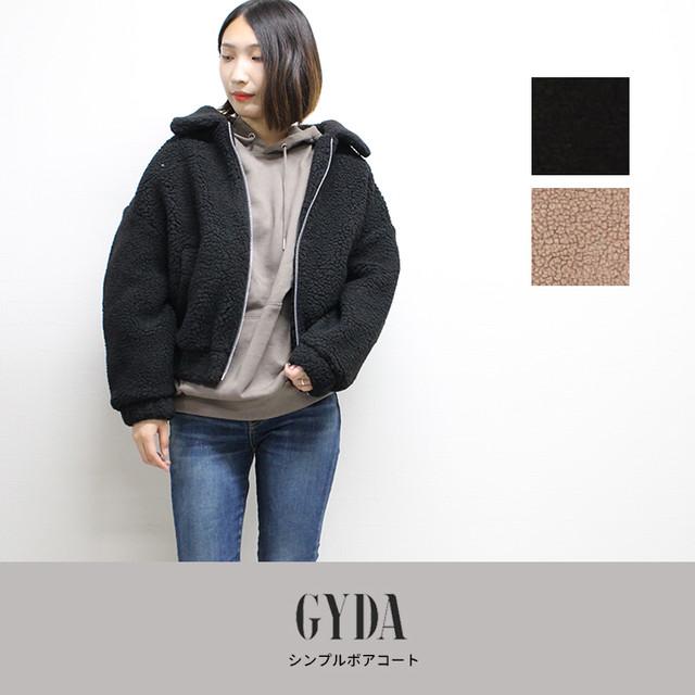 GYDA | シンプルボアコート  071850007301