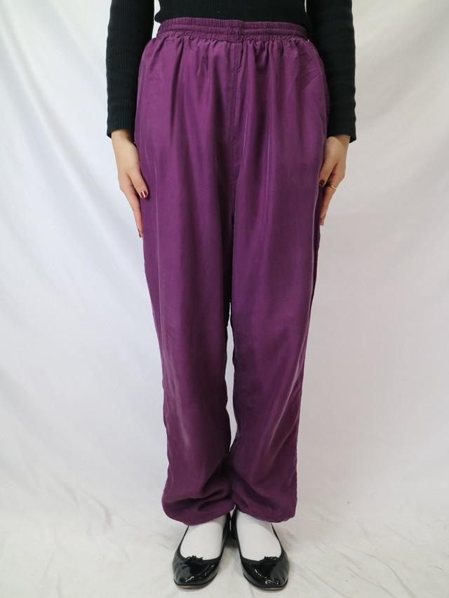 silk easy pants【0265】