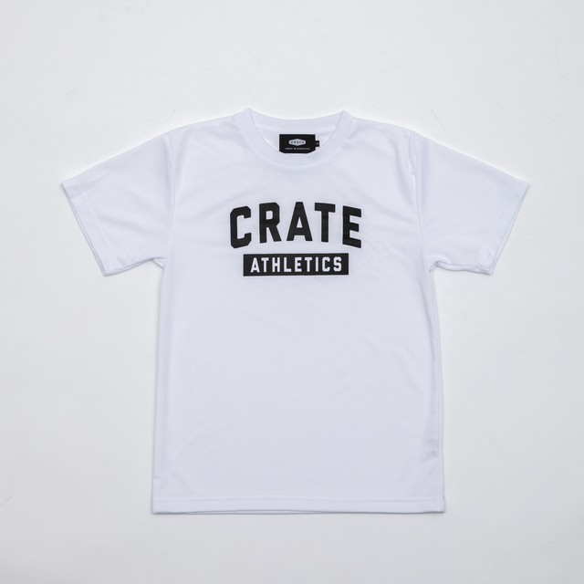 CRATE ATHLETICS Mesh T-Shirts White