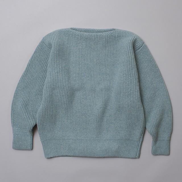 "chunky boatneck knit ""CHEROKEE"""