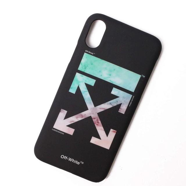 OFF-WHITE オフホワイト iPhone X Xs ケース ブラック[全国送料無料]r015850
