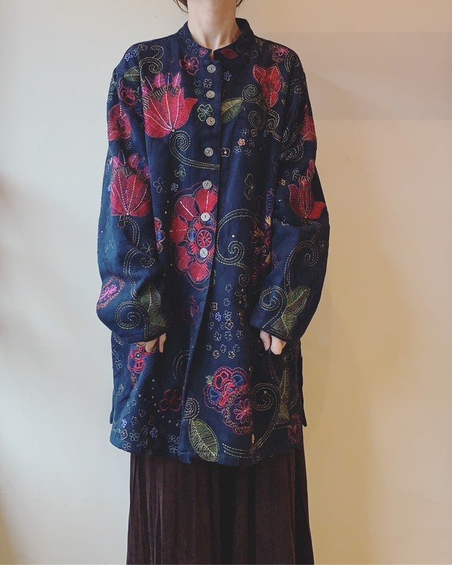 vintage embroidery outer