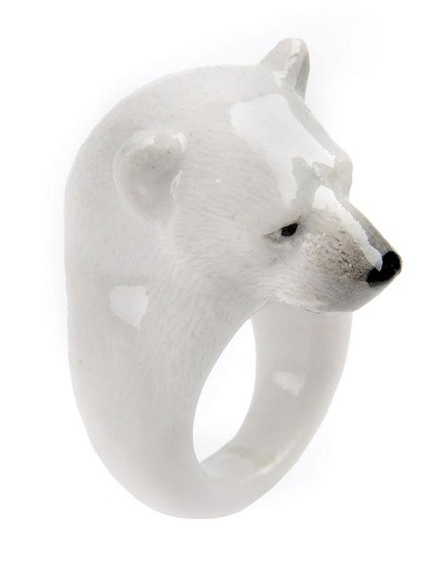 NACH アニマルリング 北極クマ