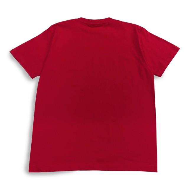 ミストラル ユニセックス [コットン半袖Tシャツ - ミストラル - ] RED