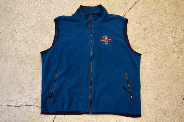 USED 80s REI Limited Edition Fleece vest -Large V0657