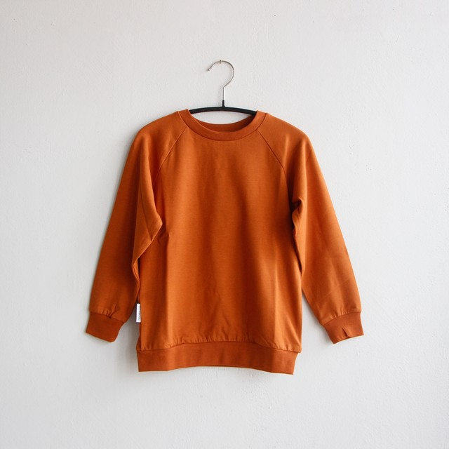 《MINGO. 2020AW》Long sleeve / Dark Ginger