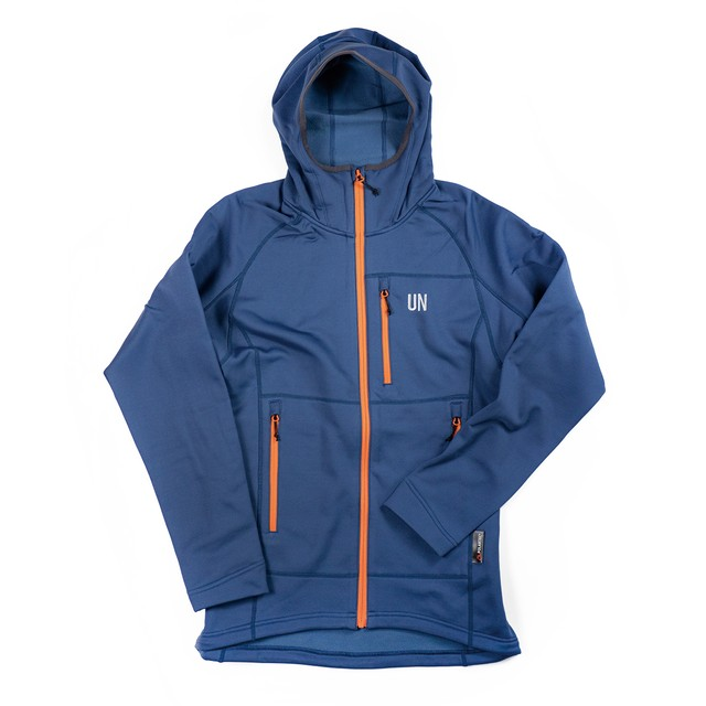 UN3100 Mid weight fleece hoody / Navy