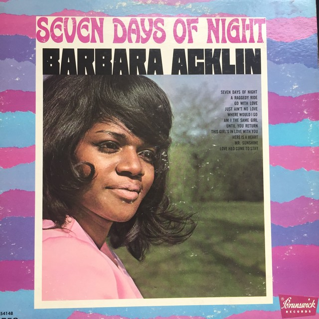 Barbara Acklin ‎– Seven Days Of Night