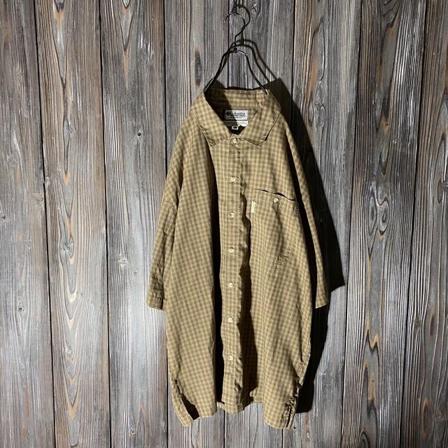 [Columbia]cute vintage color shirt