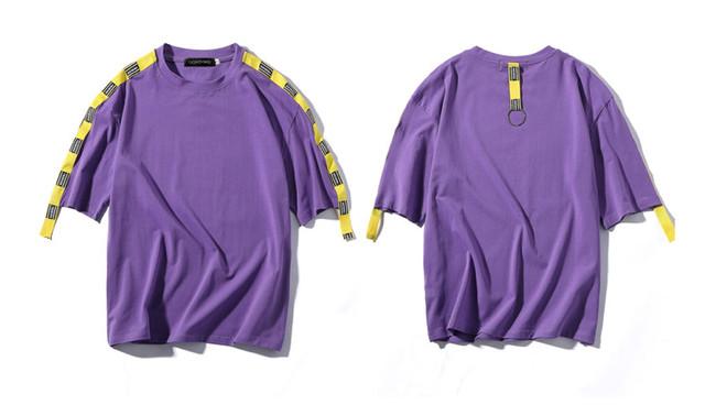 【アウトレットセール】ベルト付きデザインTシャツ