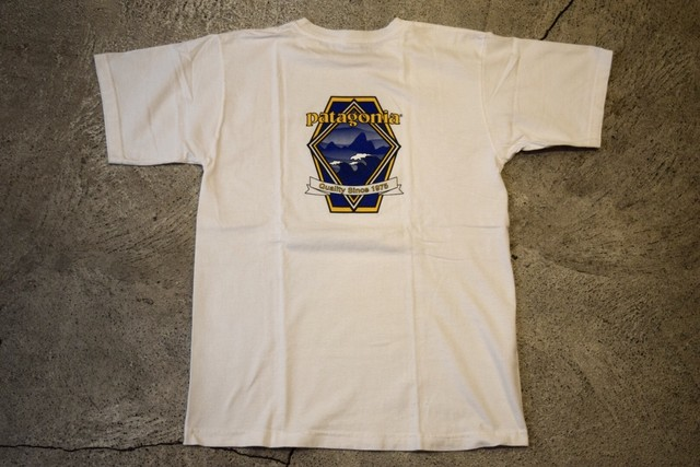 USED patagonia T-shirt 90s 00s S made in USA T0235