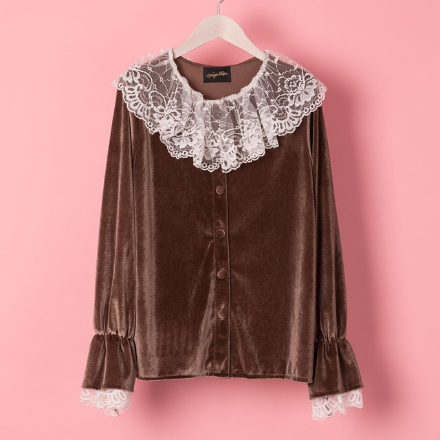 LACY WIZARD BLOUSE (VN1712006)
