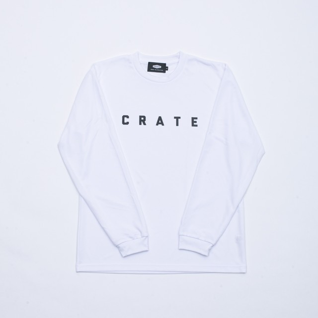 Crate Simple Logo L/S Tee  DarkGreen