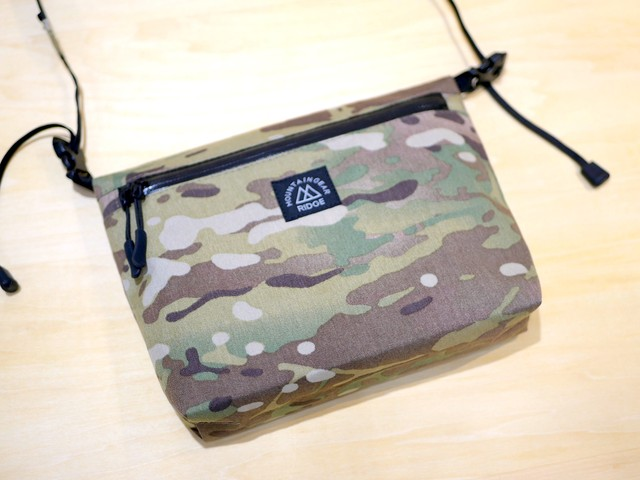 RIDGE MOUNTAIN GEAR / SHOULDER PACK(ショルダーパック)