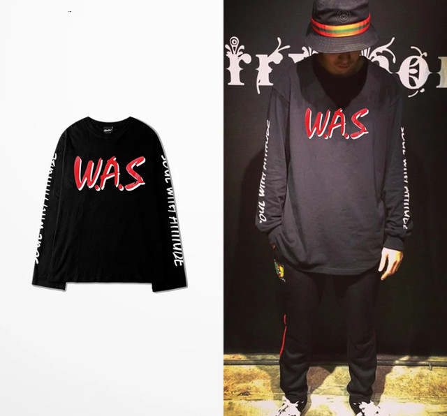 【DOPE】WASデザインロングTシャツ 2カラー