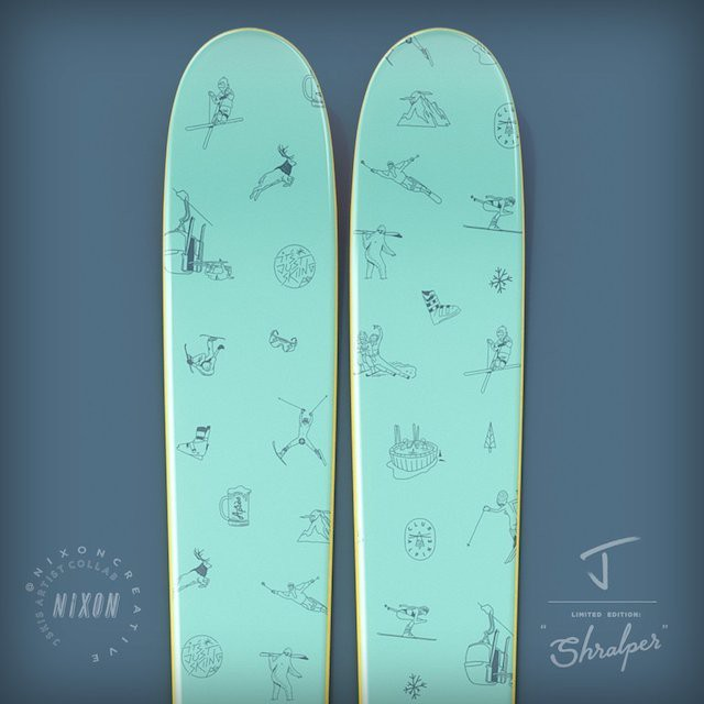 "J skis - THE WHIPIT ""SCHRALPER - CHRIS NIXON X J COLLAB""(予約販売)"