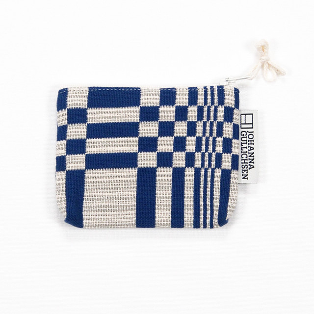 JOHANNA GULLICHSEN Coin Purse Doris Blue