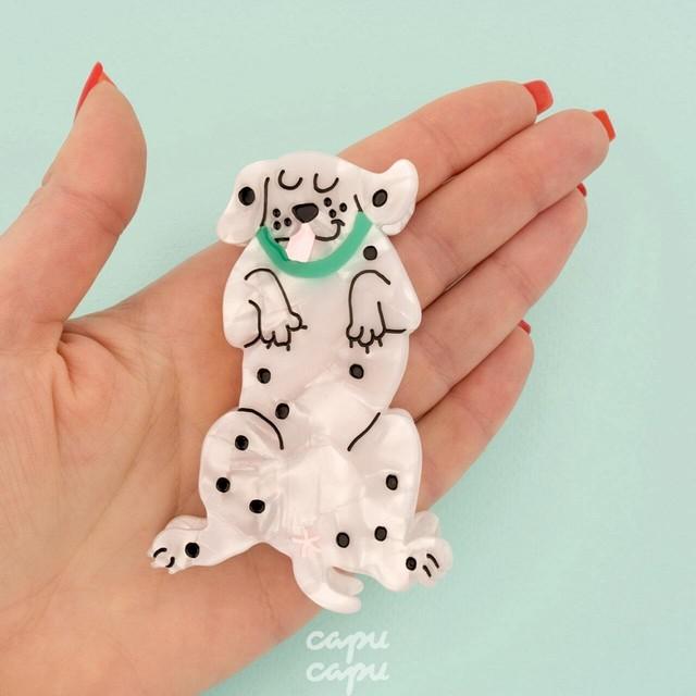 Coucou Suzette Dalmatian Hair claw
