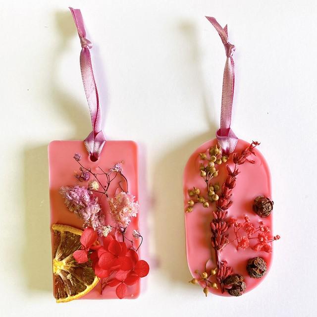 花を摘む少女と虫を殺す少女(ロマンティックガーデン)