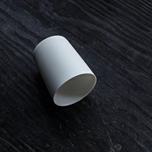 白カップ  3 murakami yuji