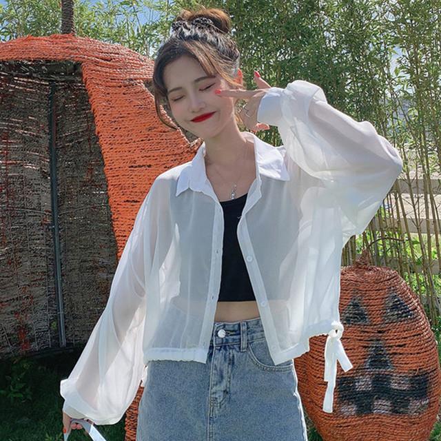【アウター】今季マストバイ ファッション韓国系無地 POLOネック ボウタイ カーディガン30886633