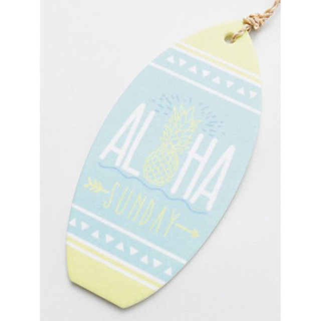 【kahiko/カヒコ】サーフボード型ハワイアンエアフレッシュナ― ALOHA SUNDAY