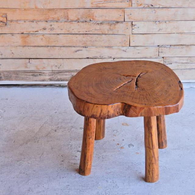 チークウッド ローテーブル