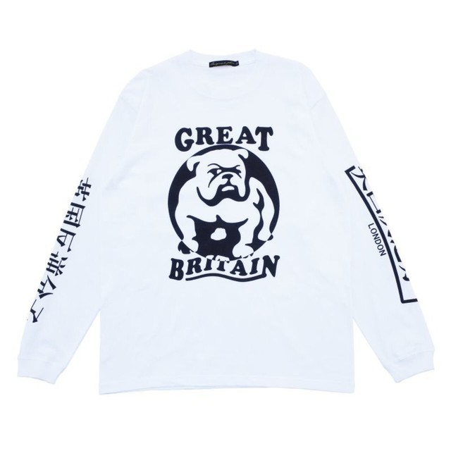 Original John | BULLDOG L/S - White  [CT383]