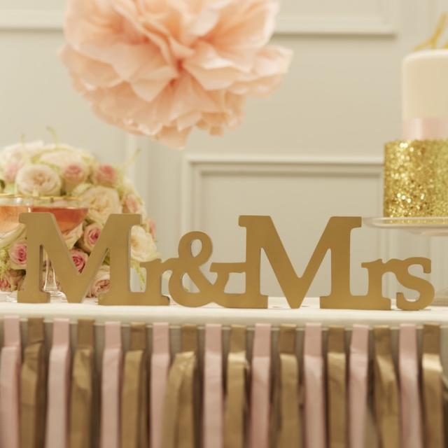 Mr. & Mrs (ゴールド) (MJPP638)