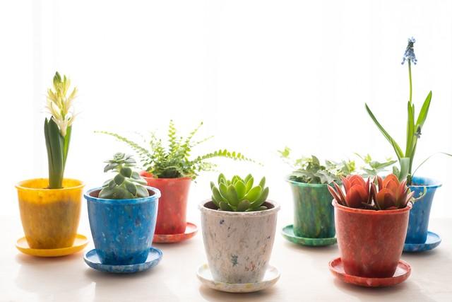 Plantpot-ミニ植木鉢-boco(凹型)