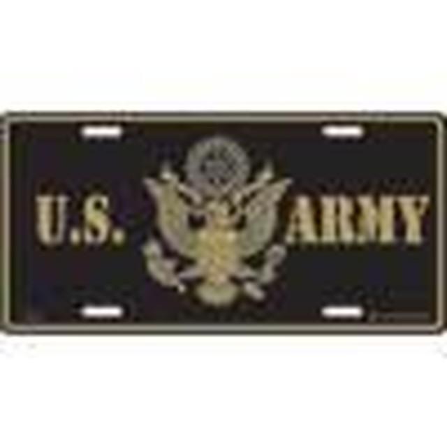 引続きセール主力商品20%OFF!  【ライセンスプレート】U.S ARMY【ミリタリー】