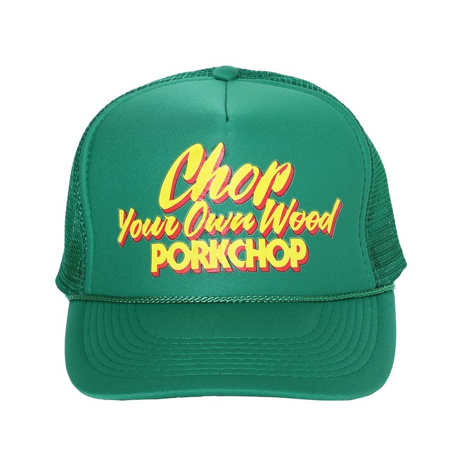 CHOP YOUR OWN WOOD CAP/GREEN