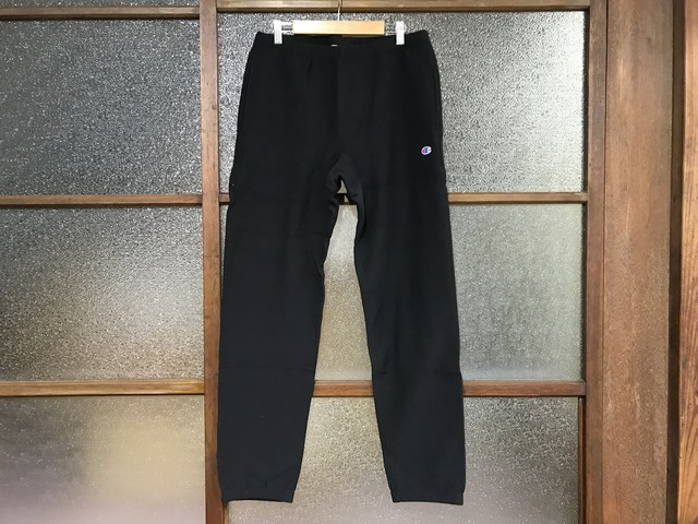 CHAMPION REVERSE WEAVE SWEAT PANTS (BLACK)