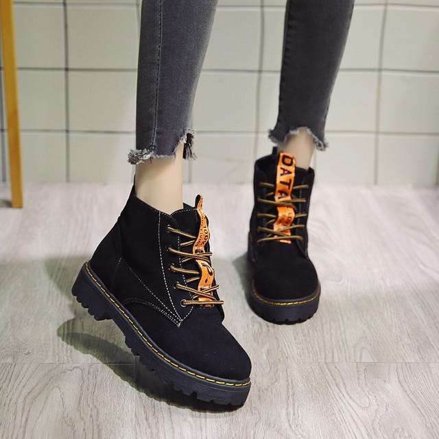 【shoes】ロングブーツ太いヒール疲れない美脚ブーツ