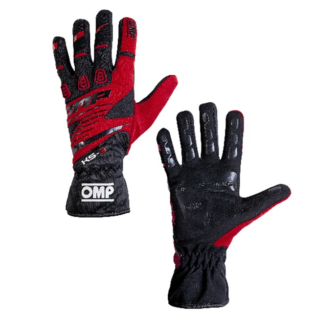 KK02743E076  KS-3 Gloves (Black/white)