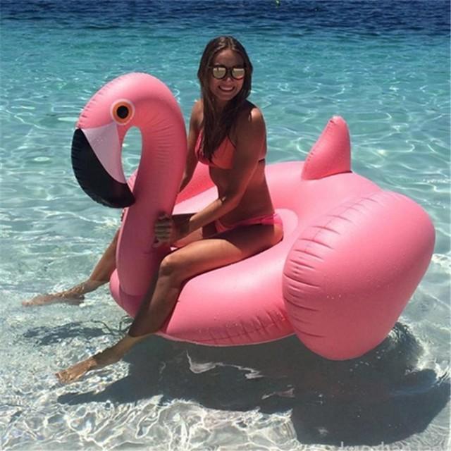 送料無料★150cm フラミンゴ型フロート
