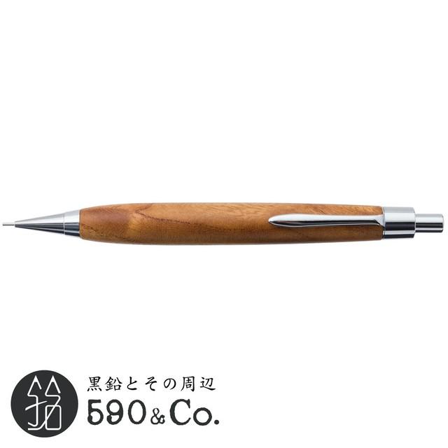 【CRAFT A/クラフトエー】銘木シャープペンシルII / 欅 (0.5mm) D