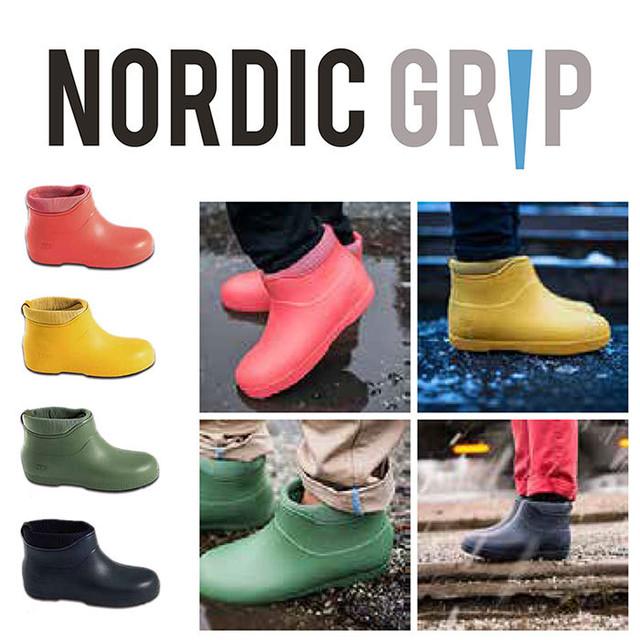 NORDIC GRIP(ノルディックグリップ) GALOSHES 靴底用 滑り止め 凍結 路面 雪対策 雪道スパイク スノーグラバー 転倒防止 滑らない ND-031